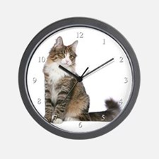 Norwegian Forest Cat Wall Clock