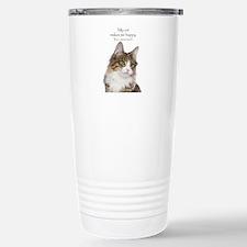 Not So Much Cat Travel Mug