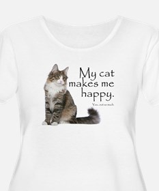 Not So Much Cat Plus Size T-Shirt