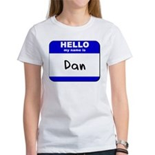 hello my name is dan Tee