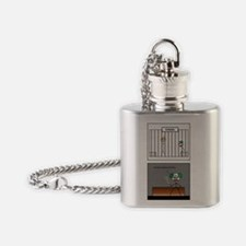 fun jail Flask Necklace