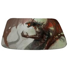 Gothic Dark Dragon Bathmat