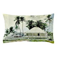 Winslow Homer - Cabins, Nassau. Winslo Pillow Case