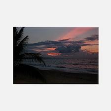 Punta Uva Beach Costa Rica Rectangle Magnet