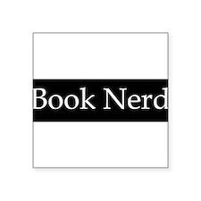 Book Nerd - (BS-W) Sticker