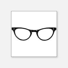 Librarian Glasses Sticker