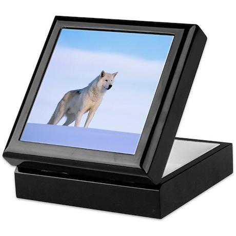 White Wolf Keepsake Gift Box