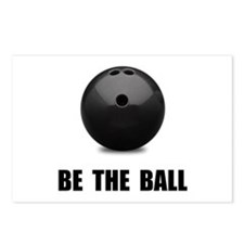 Be Ball Bowling Postcards (Package of 8)