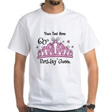Personalized Tiara 60th Birthday Queen Shirt