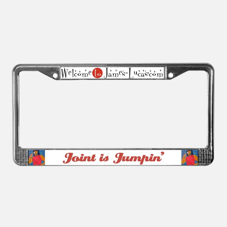 Joint is Jumping License Plate Frame