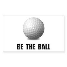 Be Ball Golf Decal