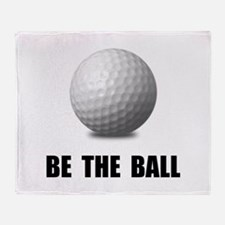 Be Ball Golf Throw Blanket