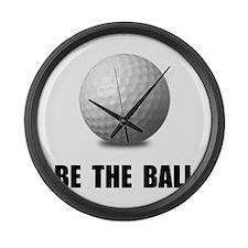 Be Ball Golf Large Wall Clock