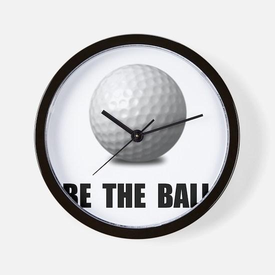 Be Ball Golf Wall Clock
