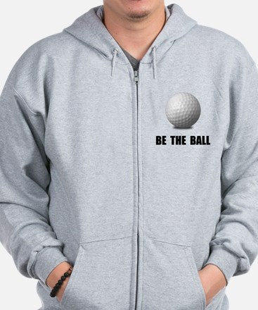Be Ball Golf Zip Hoodie