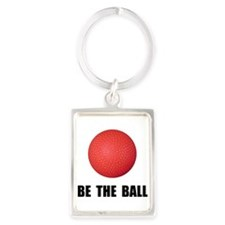 Be Ball Kickball Keychains