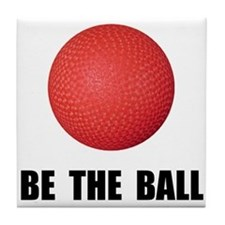 Be Ball Kickball Tile Coaster