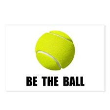 Be Ball Tennis Postcards (Package of 8)