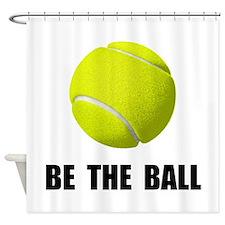 Be Ball Tennis Shower Curtain