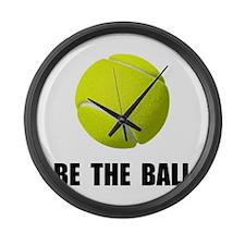 Be Ball Tennis Large Wall Clock