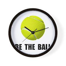 Be Ball Tennis Wall Clock