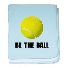Be Ball Tennis baby blanket