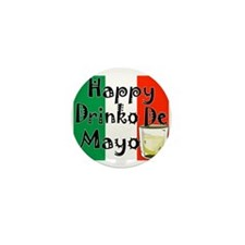 Drinko De Mayo Mini Button