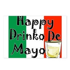 Drinko De Mayo Postcards (Package of 8)