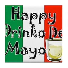 Drinko De Mayo Tile Coaster