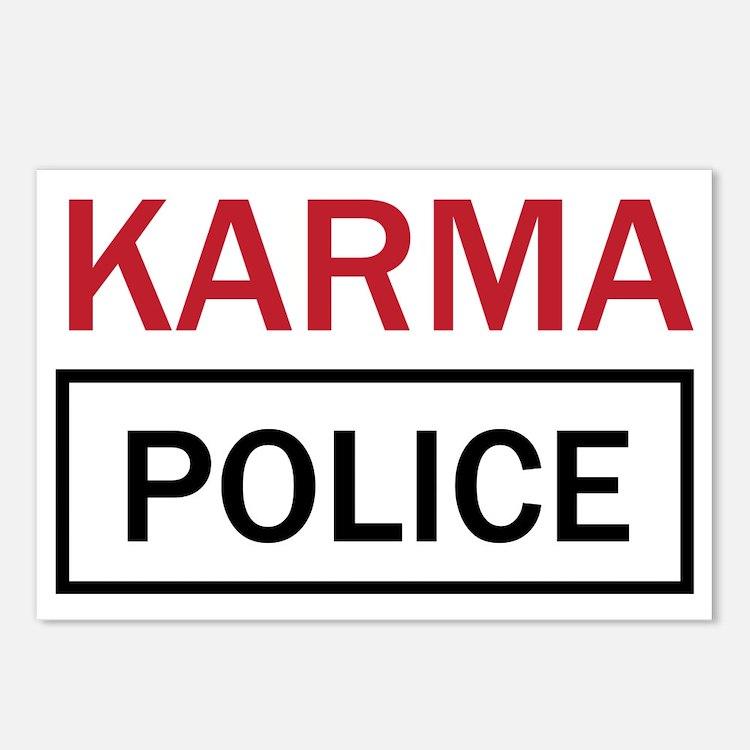 OK Computer Karma Police  Postcards (Package of 8)