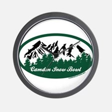 Camden Snow Bowl State Park Wall Clock