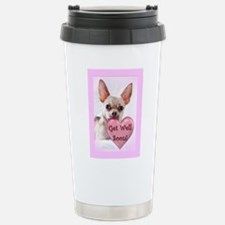 Get Well soon chihuahua dog Travel Mug