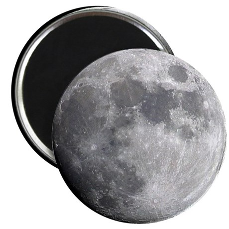 "Moon 2.25"" Magnet (10 pack)"