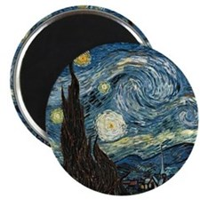 Vincent VanGogh Starry Night Magnet
