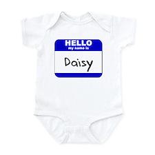 hello my name is daisy  Infant Bodysuit