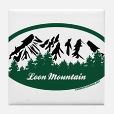 Loon Mountain State Park Tile Coaster