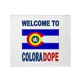 Colorado marijuana Blankets