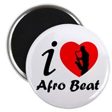 I love Afro beat Magnet