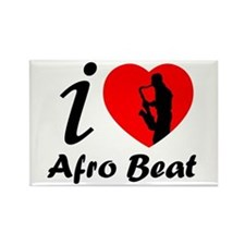 I love Afro beat Rectangle Magnet