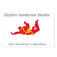 Skydive SW FloridaTShirt  Postcards (Package of 8)
