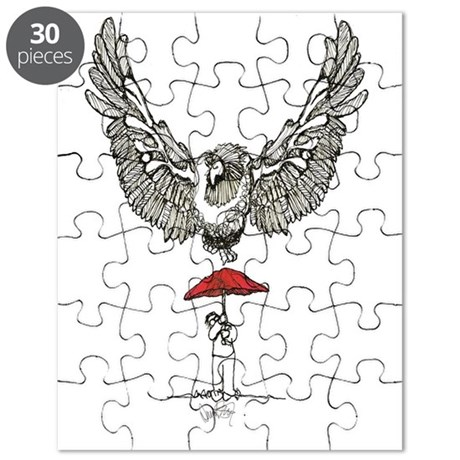 David Street Art Condor Puzzle