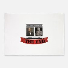 the end at appomattox 5'x7'Area Rug