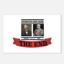 the end at appomattox Postcards (Package of 8)