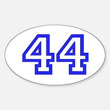 #44 Sticker (Oval)