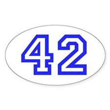 #42 Decal