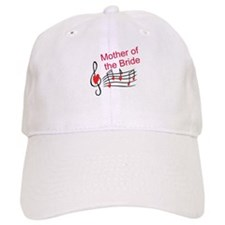 Mother Of Bride Music Notes Baseball Baseball Cap
