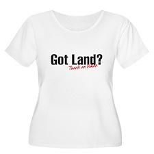 Got Land? Plus Size T-Shirt