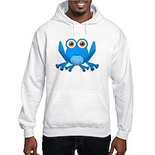 blue frog Hoodie