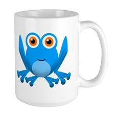 blue frog Mugs