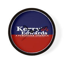 Kerry Edwards Wall Clock